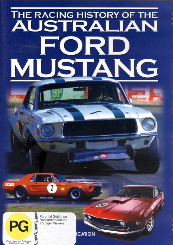 The Racing History Of The Australian Ford Mustang on DVD image