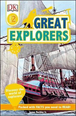DK Readers L2: Great Explorers by James Buckley image