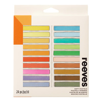 Reeves Soft Pastels Set of 24