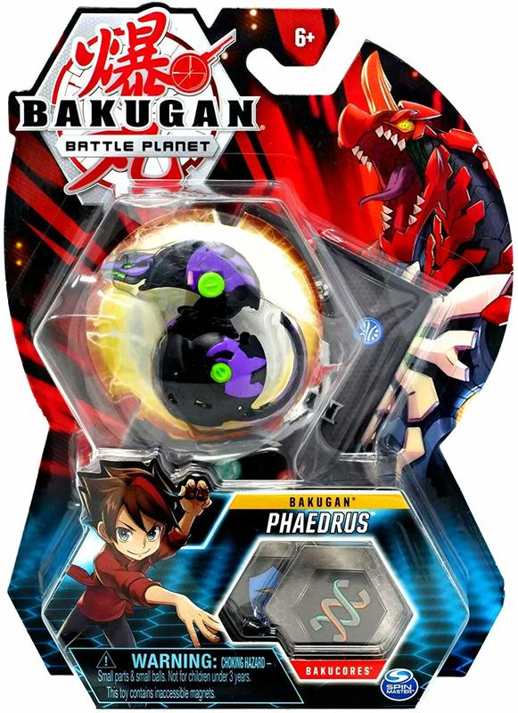 Bakugan: Battle Planet - Core Pack (Phaedrus)