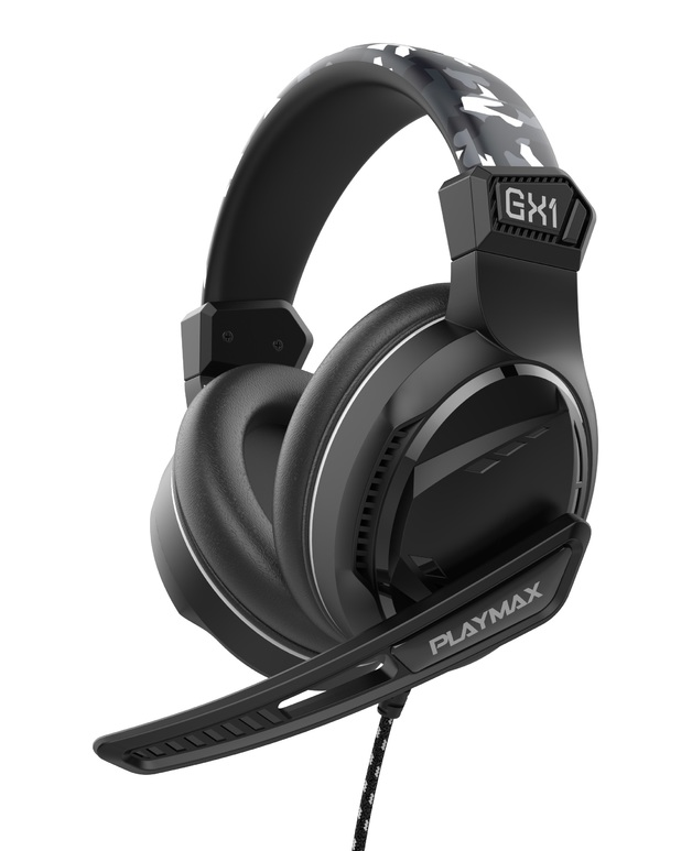 Playmax GX1 Universal Headset - Camo Edition for PS5, PS4, Xbox Series X, Xbox One