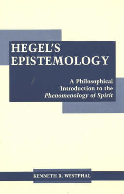Hegel's Epistemology by Kenneth R Westphal image