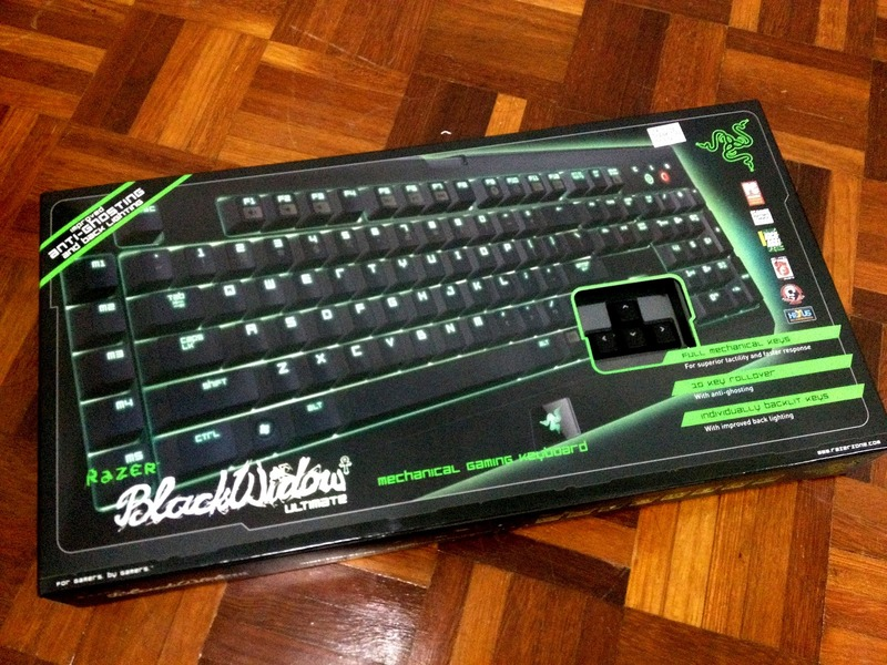 Razer BlackWidow Ultimate Mechanical Gaming Keyboard (2013) (Cherry MX Blue)
