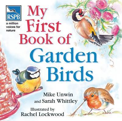 RSPB My First Book of Garden Birds by Mike Unwin image