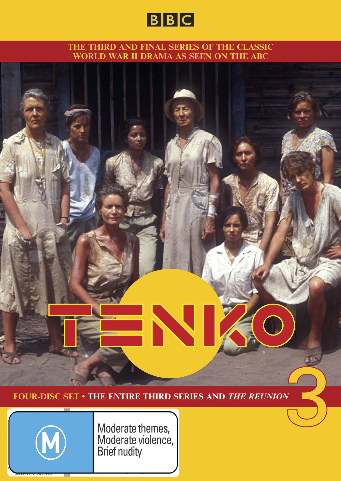 Tenko - The Entire 3rd Series and The Reunion (4 Disc Set) on DVD image