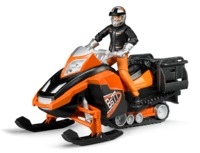 Bruder: Snowmobile with Driver & Accessories
