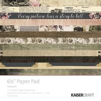 "Kaisercraft Keepsake 6.5"" Paper Pad"