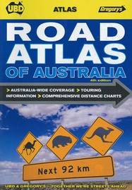 Road Atlas of Australia 4th ed by UBD / Gregory's