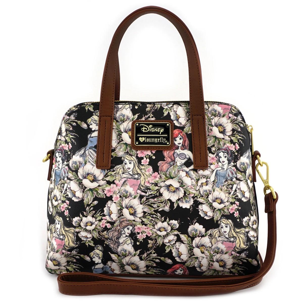 Disney Princesses - Floral Crossbody Bag | Womenu0026#39;s | At Mighty Ape NZ