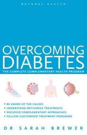 Overcoming Diabetes by Sarah Brewer image