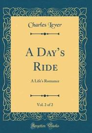 A Day's Ride, Vol. 2 of 2 by Charles Lever image