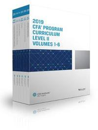 CFA Program Curriculum 2019 Level II Volumes 1-6 Box Set by CFA Institute
