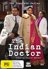 The Indian Doctor: S1-3 Complete Box Set on DVD
