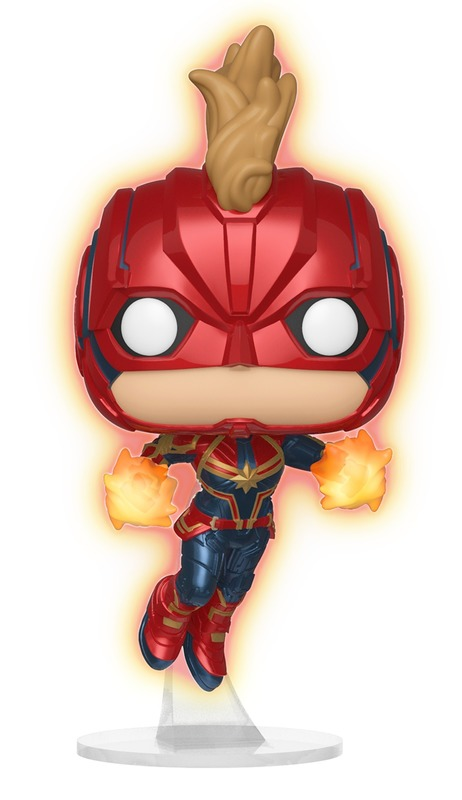 Captain Marvel: Masked (Glow) - Pop! Vinyl Figure