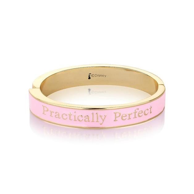 Couture Kingdom: Disney Mary Poppins Practically Perfect Bangle - Yellow Gold