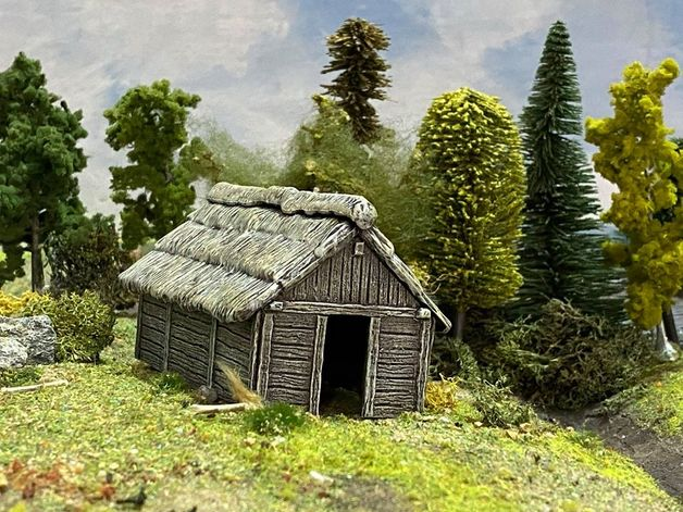 Renedra Dark Ages/Medieval Timber Outbuilding