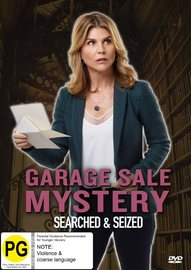 Garage Sale Mysteries: Searched & Seized on DVD image