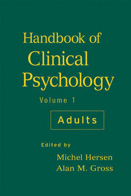 Handbook of Clinical Psychology: v. 1 image