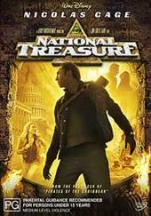 National Treasure on DVD