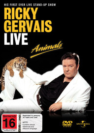 Ricky Gervais Live - Animals on DVD