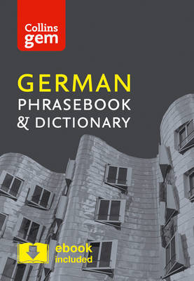 Collins German Phrasebook and Dictionary Gem Edition by Collins Dictionaries
