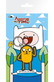 Adventure Time: Rubber Keychain Jake (7cm)