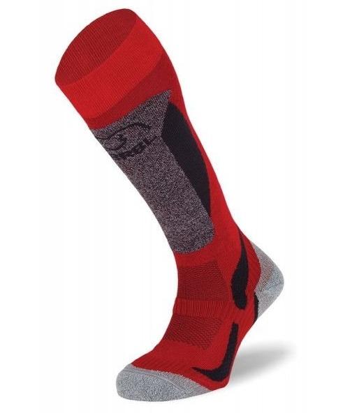 BRBL: Polar Ski Red Socks (Large)