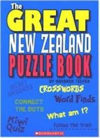 The Great New Zealand Puzzle Book by Barbara Telfer