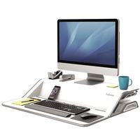 Fellowes®: Lotus™ Sit-Stand Workstation - White