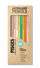 Whiskey River Co: Astrology Pencil - Pisces (8 Pack)