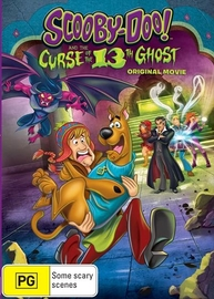 Scooby-Doo: and the Curse of the 13th Ghost on DVD