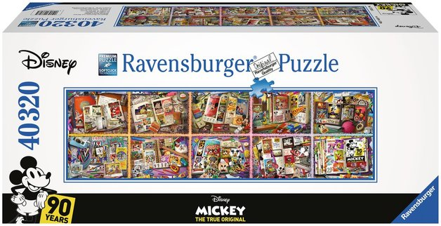 Ravensburger: 40,320 Piece Puzzle - Mickey Mouse through the Years