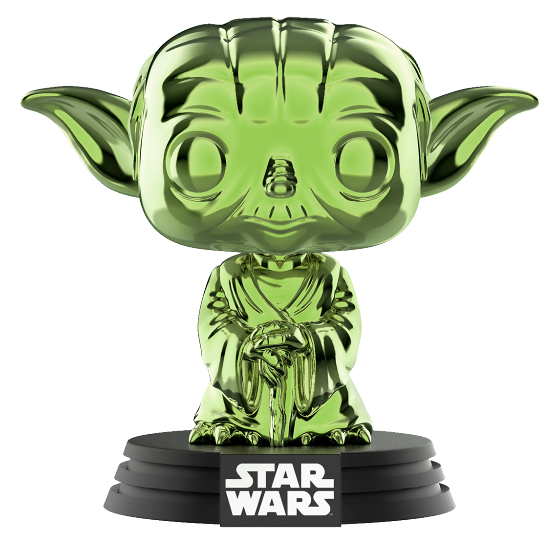 Yoda (Green Chrome) - Pop! Vinyl Figure image