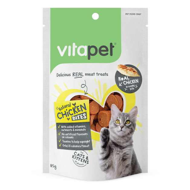 Vitapet: Natural Chicken Bites (85g)