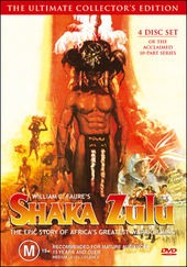 Shaka Zulu - The Ultimate Collector's Edition (4 Disc Set) on DVD