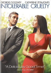 Intolerable Cruelty on DVD