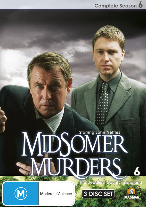 Midsomer Murders - Complete Season 6 (Single Case ) on DVD