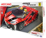 Meccano: Ferrari GTB 488 Roadster - Model Set