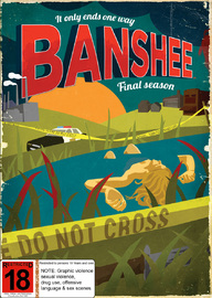 Banshee - The Complete Fourth Season on DVD