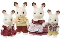 Sylvanian Families: Chocolate Rabbit Family image