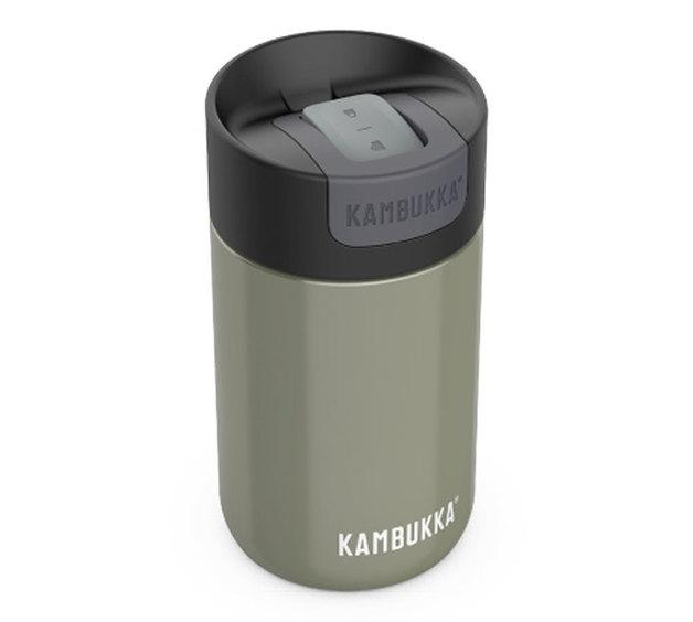 Kambukka: Olympus Switch Lid Travel Mug - Champaign (300ml)