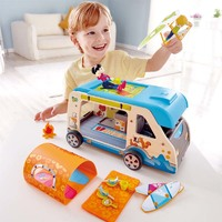 Hape: Adventure Kids - Adventure Van Playset