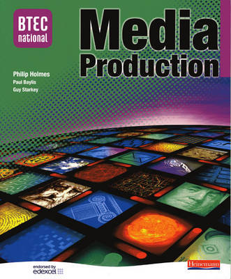 BTEC National in Media Production - Core Student Book image