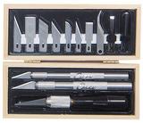 Excel Wooden Box Professional Knife Set (16pcs)