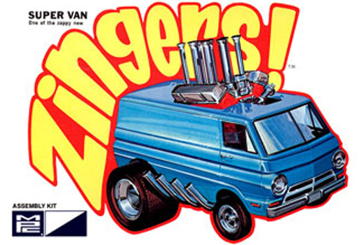 MPC Zingers Super Van 1/32 Model Kit image