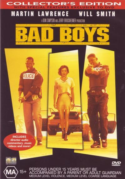 Bad Boys - Collector's Edition on DVD image