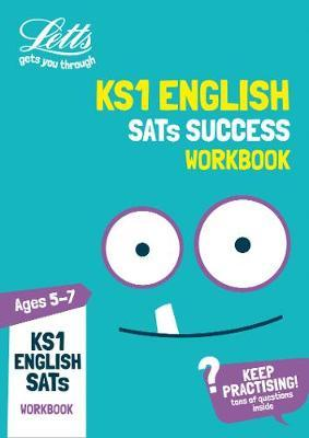KS1 English SATs Practice Workbook by Letts KS1 image