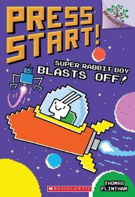 Super Rabbit Boy Blasts Off By Thomas Flintham