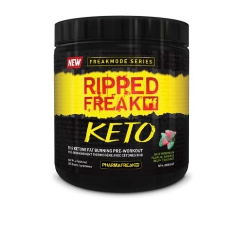 Ripped Freak Keto Pre-Workout - Sour Watermelon (30 Serves)