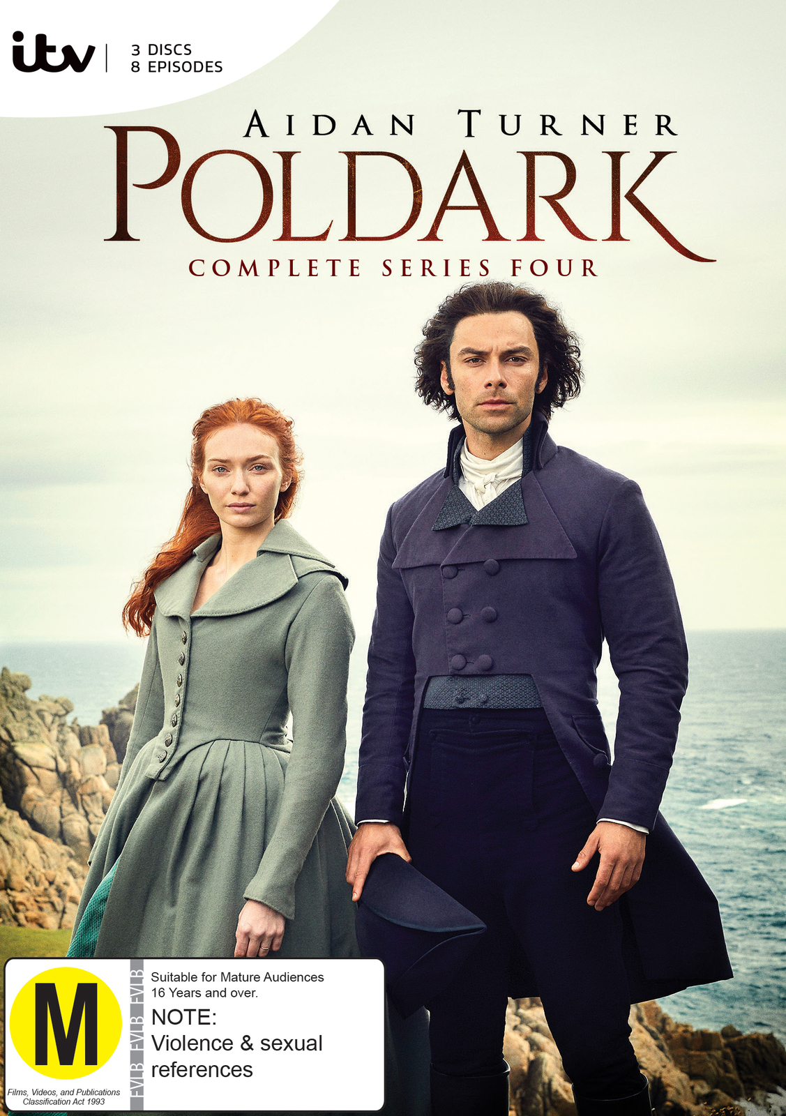Poldark: The Complete Series Four on DVD image